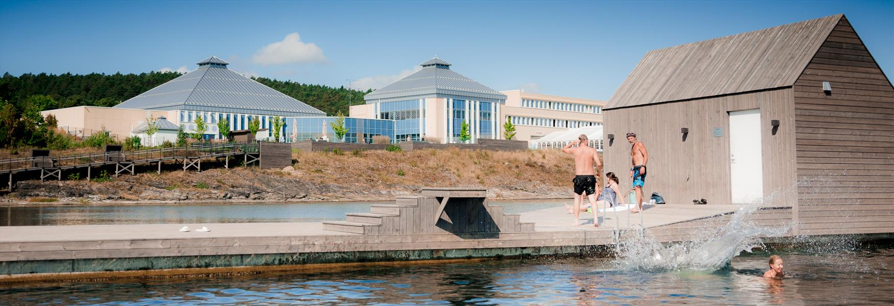 bathing jetty at Quality Hotel Skjærgården in Langesund