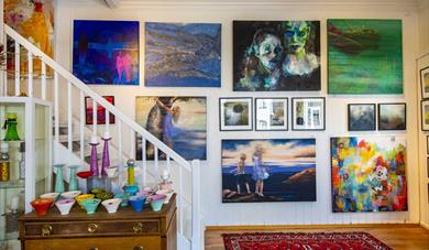 Galleri Heuch, high quality art by renowned Norwegian artists.