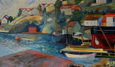 Art by the Kragerø artist Rino Harveg