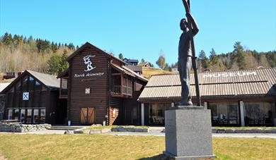 museum building of Norwegian Ski Adventure in Morgedal