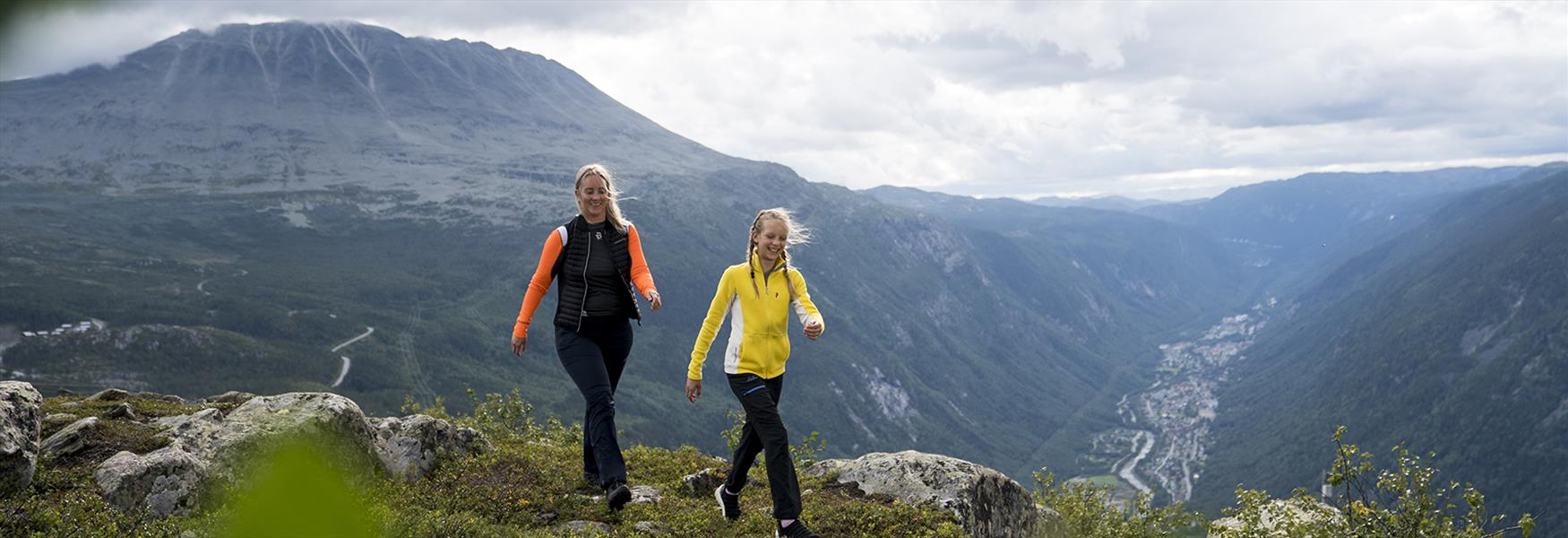 Enjoy hiking in the Mountains of Telemark