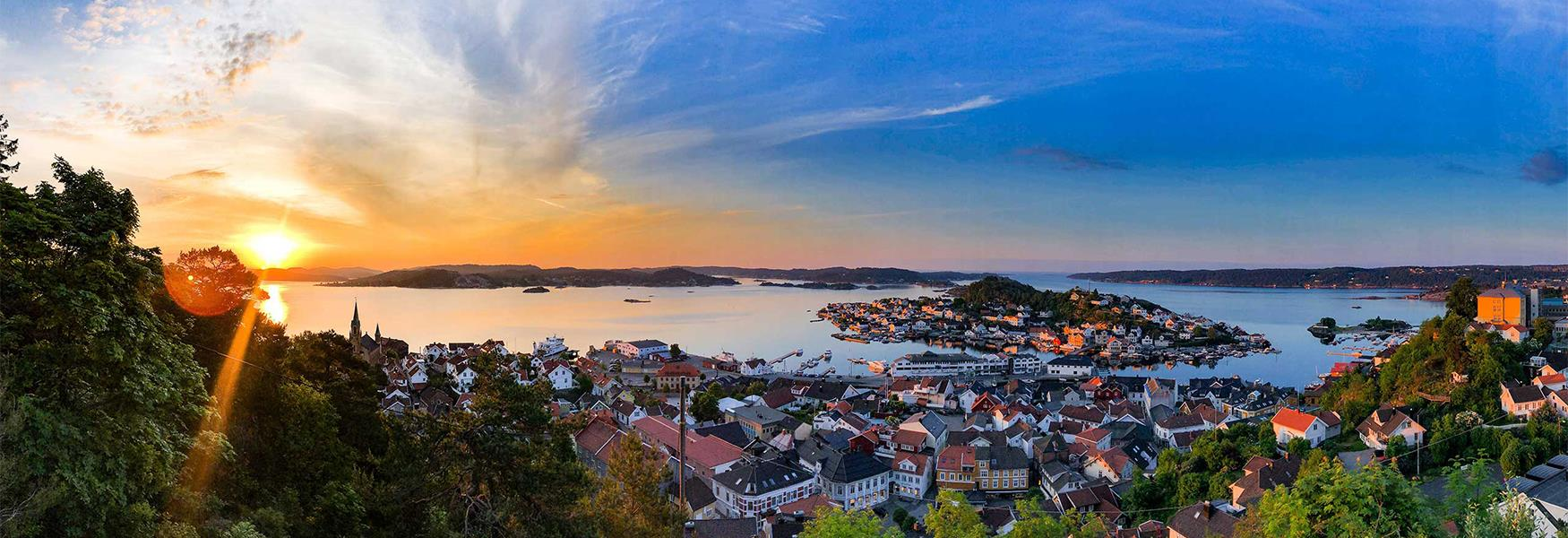 Viewpoints in Kragerø