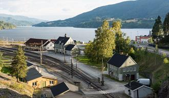 The Tinnoset line, Bratsbergline and Notodden railway station