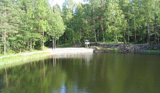 Dammane in Brevik, nice walking area