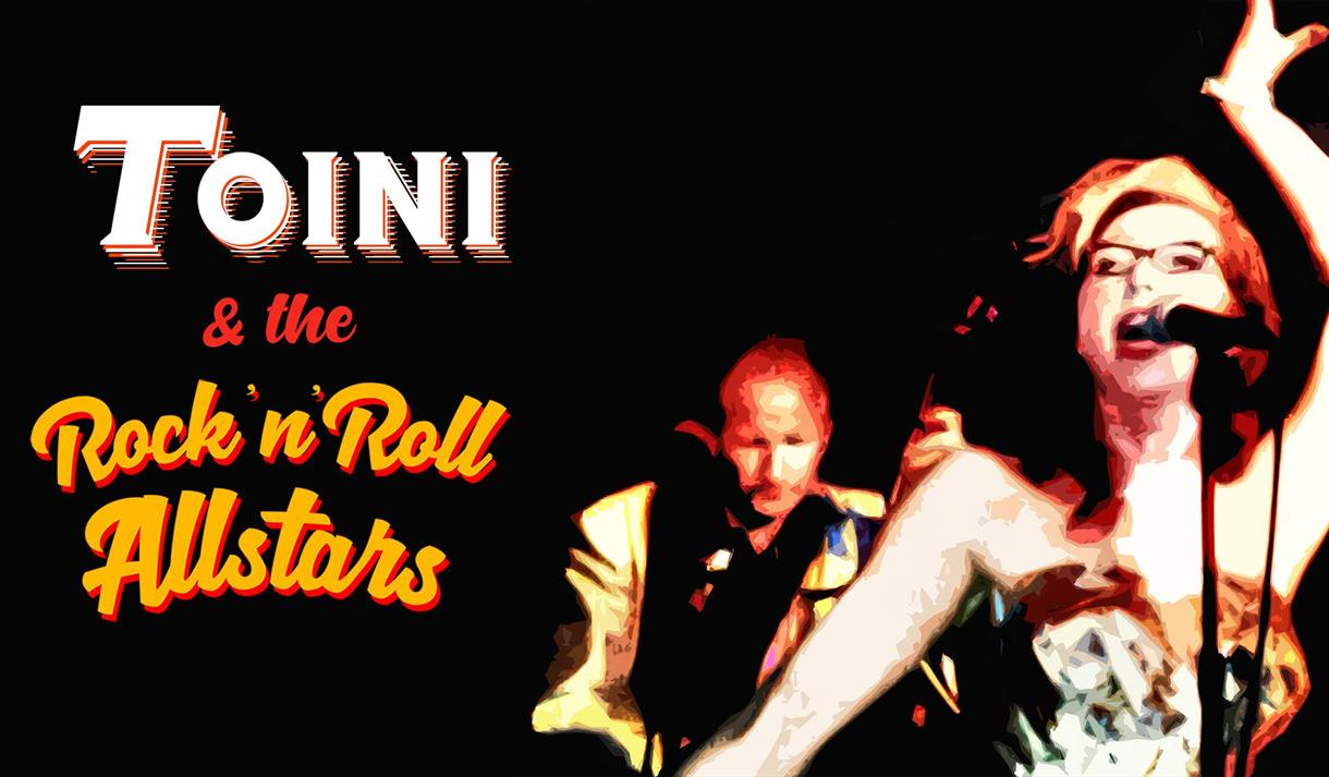 Toini & the Rock'n'Roll Allstars at Stopp En Halv