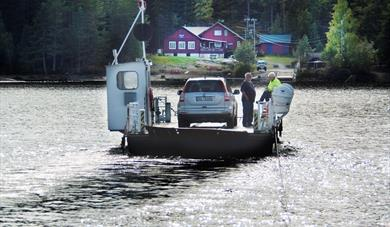 Cable ferry on the Nisser