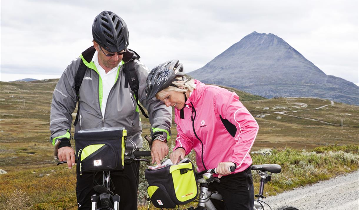 Cycling on the Hardangervidda
