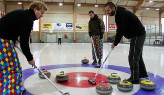 Curling in Skien fritidspark