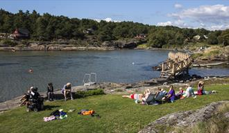 Krogshavn bathing place